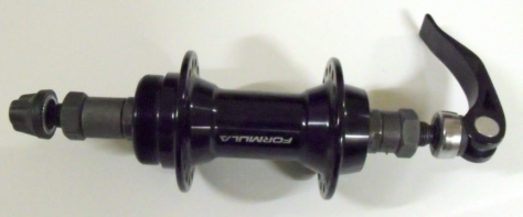 Dahon Quick Release Screw on 32H Rear Hub Black (Special Price)