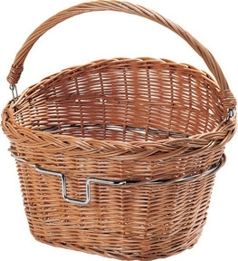Rixen Kaul Wicker Basket for Dahon inc.Headstock  Mount (only when purchased with a new bike)