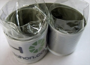 Dahon Reflective Trouser Band (Self Coiling) x 2