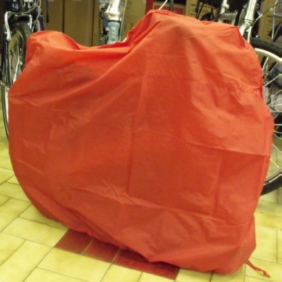 "Dahon Slip Cover  Red  for 16"" and 20""  folding bikes   Less than Half Price"