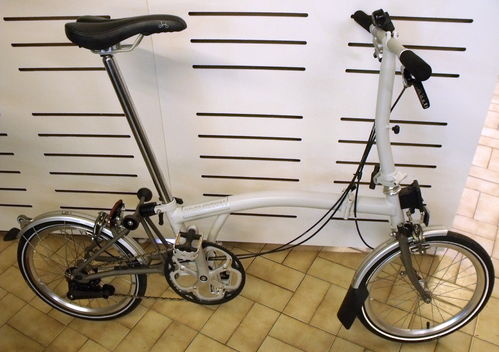 Brompton S2LX 2013  Ex Demo Light Grey/Titanium  USED but as New