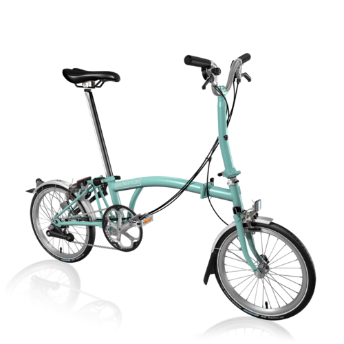 Brompton 2018 M6L Turkish Green/Turkish Green  inc Marathon Tyres