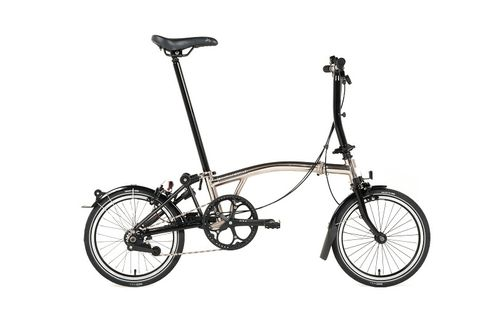 Brompton 2016 M6L Nickel/Black Special edition