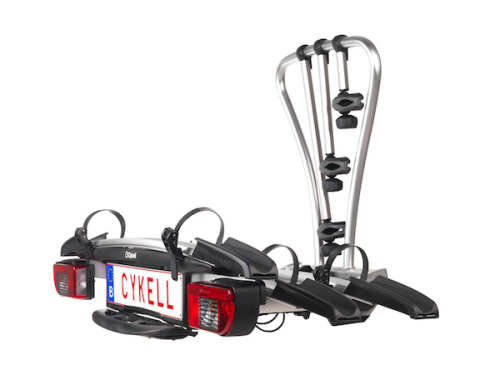 Cykell 2 Bike Tow Ball Rack T21  60KG Ideal for Electric Bikes