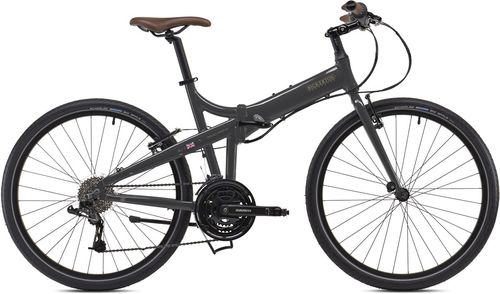 "Bickerton Docklands 1824  Dawn Grey 26"" Wheel Folding Bike"