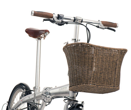 Bickerton Pembroke Basket Imitation Wicker (Fits RK, Bickerton and Tern Luggage Truss)