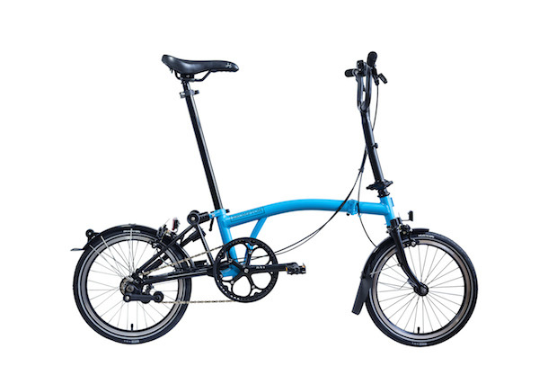 Brompton M6L Lagoon Blue Black Special Edition
