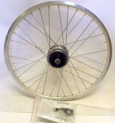 "Dahon Rear Wheel Kinetix Comp 24"" SILVER  with Shimano Nexus 8 Hub Gear"