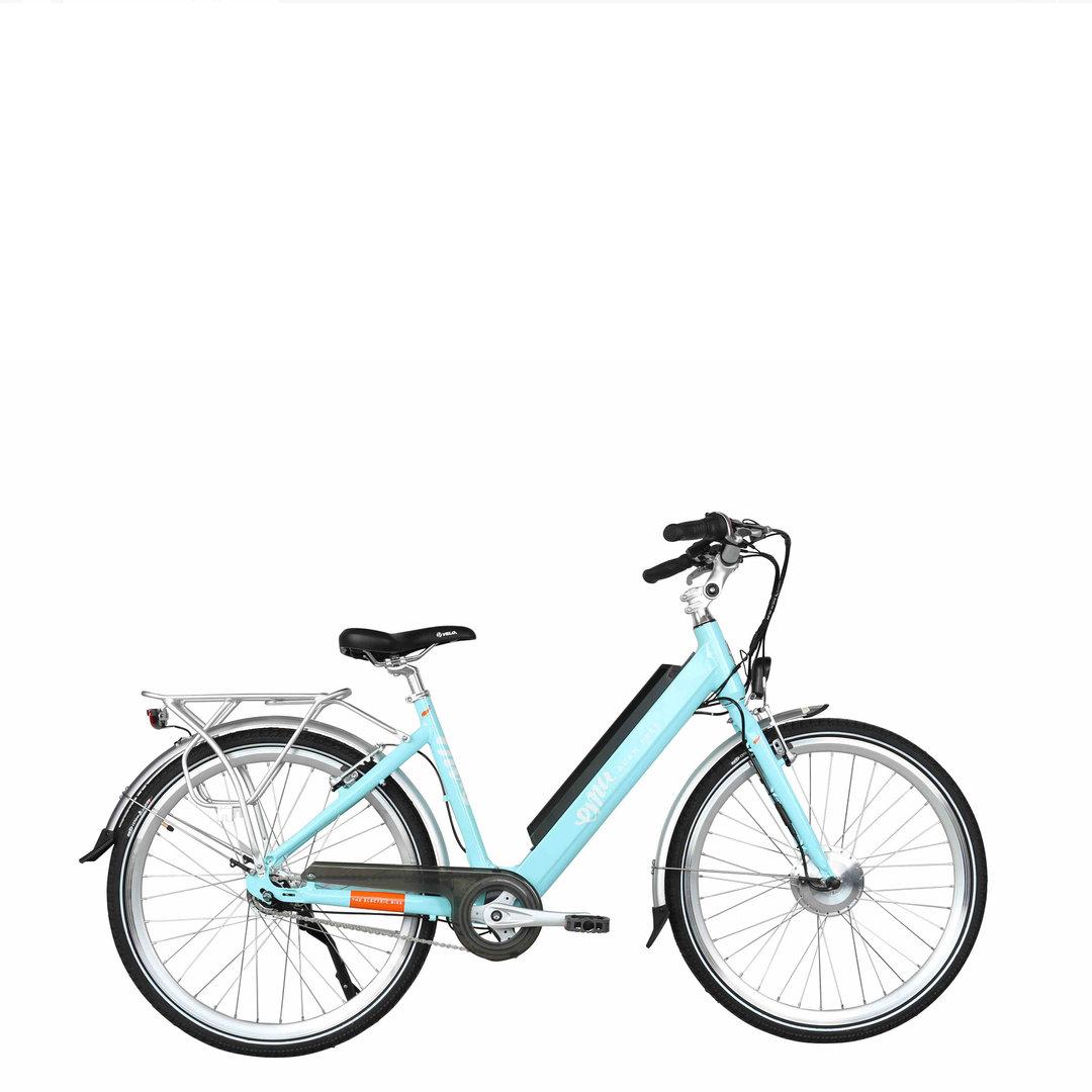 Emu Step Thru Electric Bike Blue C H White Amp Son
