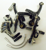 Dahon Kinetix Pro Short Alu. V Brake set with Cartridge B Blocks   Black