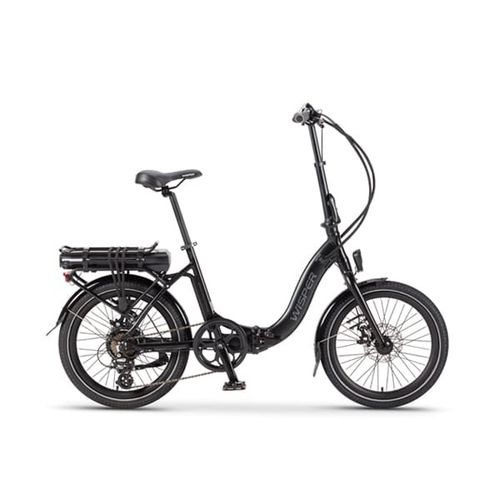 Wisper 806 36v Folding Electric Bike Black