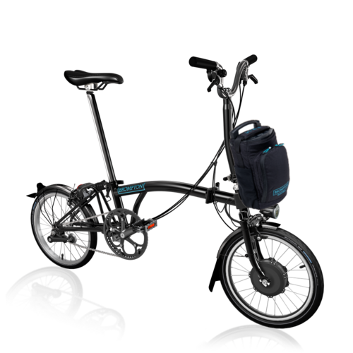Brompton  Electric Bike EB/H6L  Black (Picture shows M Type)