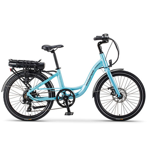 "Wisper 705  24""  36v 250w Electric Bike Blue"